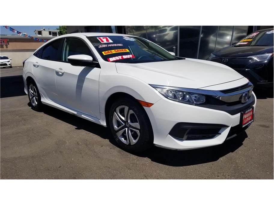 Used 2017 Honda Civic LX Sedan 4D in Madera, CA