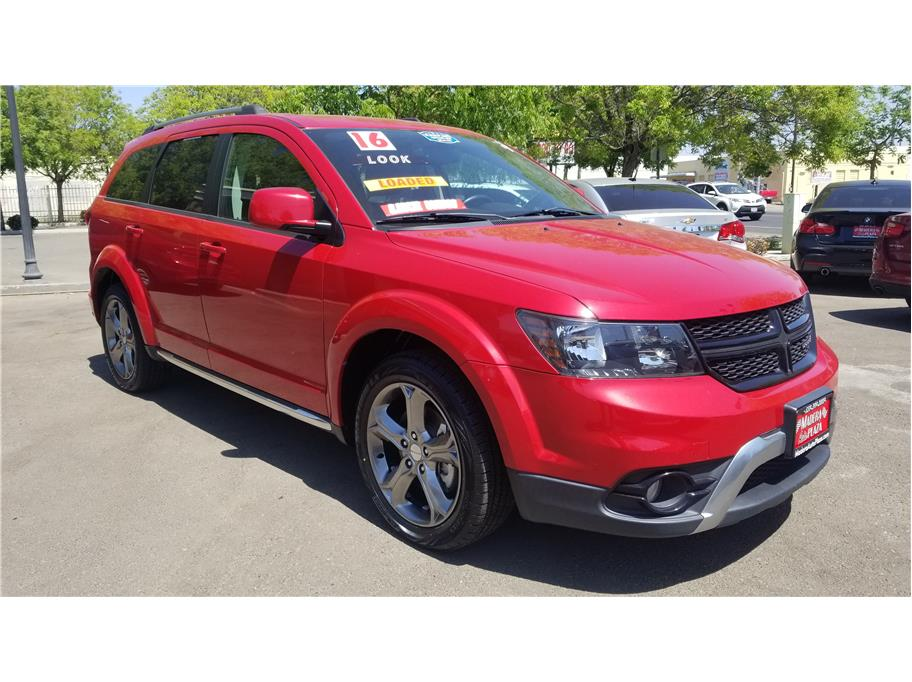 Used 2016 Dodge Journey Crossroad Sport Utility 4D in Madera, CA