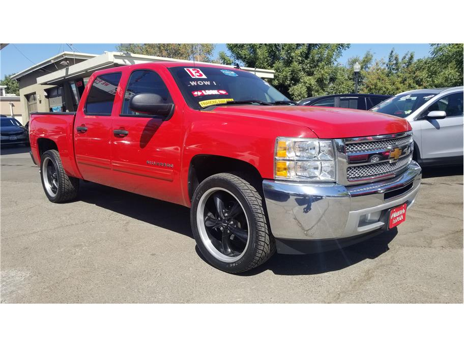 Used 2013 Chevrolet Silverado 1500 Crew Cab LS Pickup 4D 5 3/4 ft in Madera, CA
