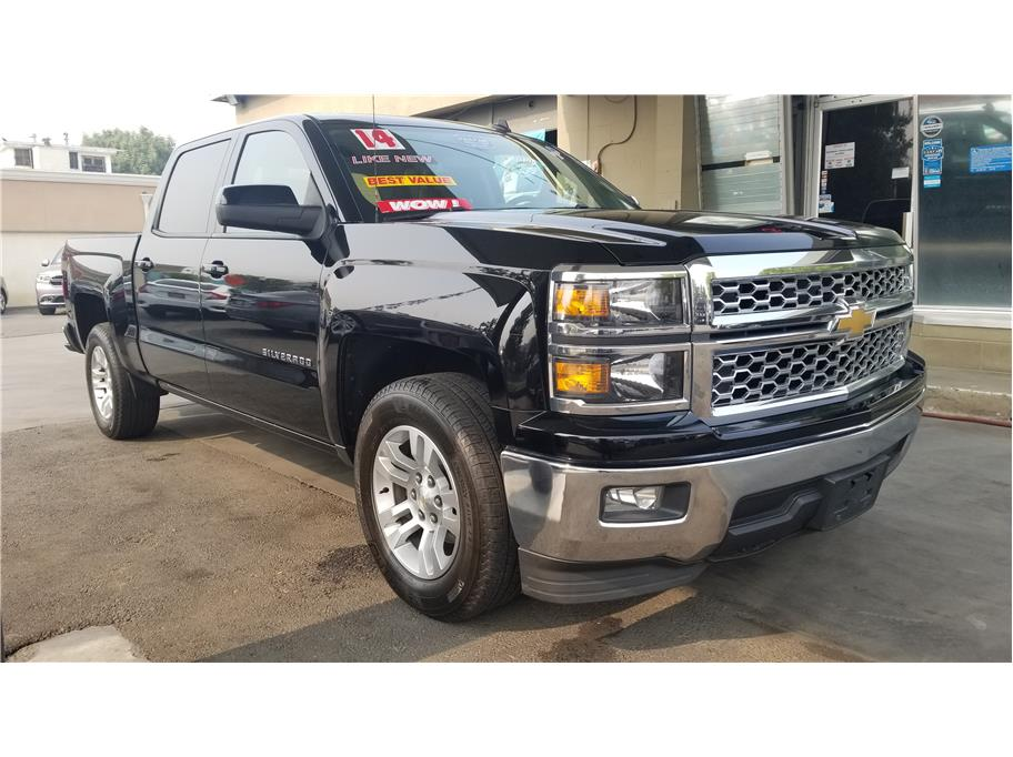 Used 2014 Chevrolet Silverado 1500 Crew Cab LT Pickup 4D 5 3/4 ft in Madera, CA