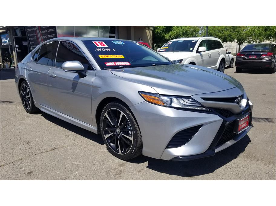 Used 2019 Toyota Camry XSE Sedan 4D in Madera, CA