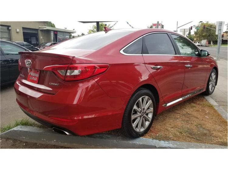 2017 Hyundai Sonata Limited Sedan 4D