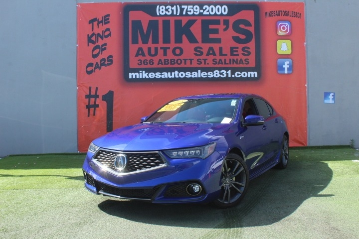 Used 2018 Acura TLX FWD V6 A-Spec in Salinas, CA