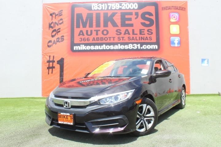 Used 2017 Honda Civic Sedan LX CVT in Salinas, CA