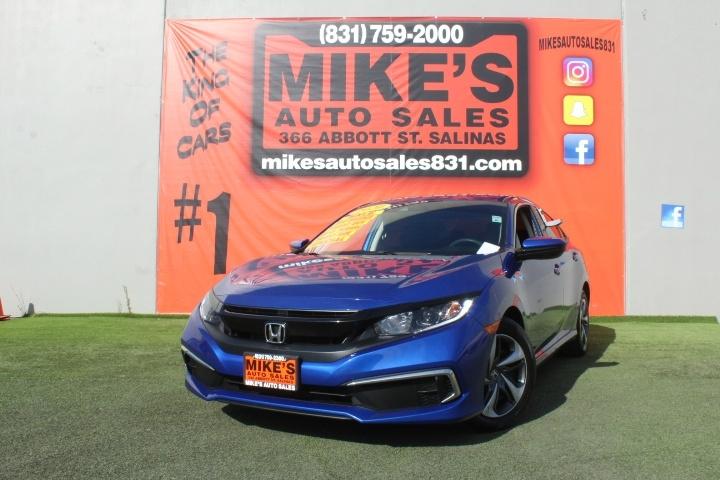 Used 2020 Honda Civic Sedan LX CVT in Salinas, CA
