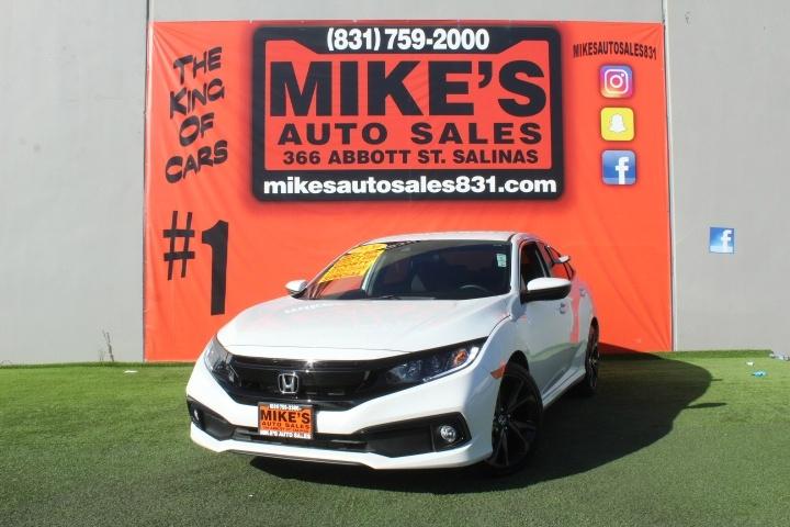 Used 2020 Honda Civic Sedan Sport CVT in Salinas, CA