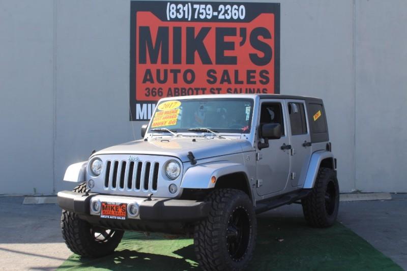 2017 Jeep Wrangler Unlimited Sahara 4x4 in Salinas, CA