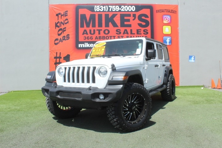 Used 2018 Jeep Wrangler Unlimited Sport 4x4 in Salinas, CA