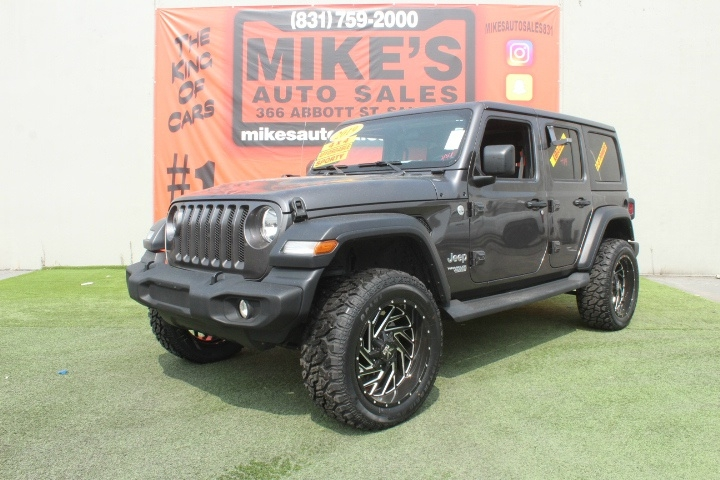 Used 2019 Jeep Wrangler Unlimited Sport S 4x4 in Salinas, CA