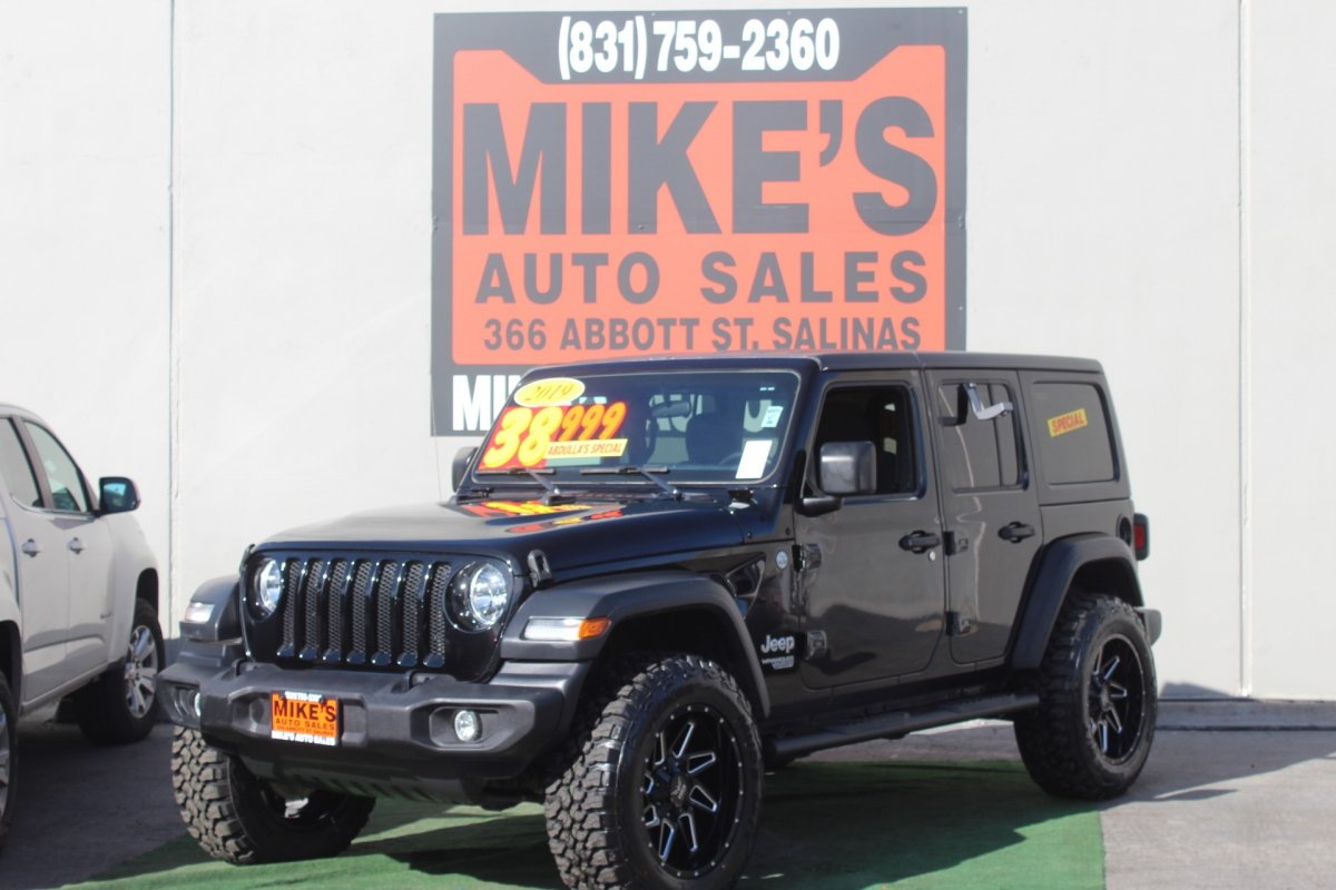 2019 Jeep Wrangler Unlimited Sport S 4x4 in Salinas, CA