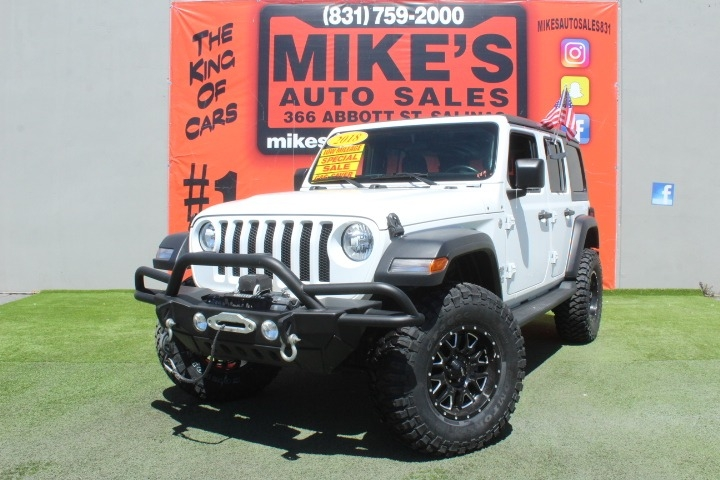 Used 2018 Jeep Wrangler Unlimited Sport S 4x4 in Salinas, CA