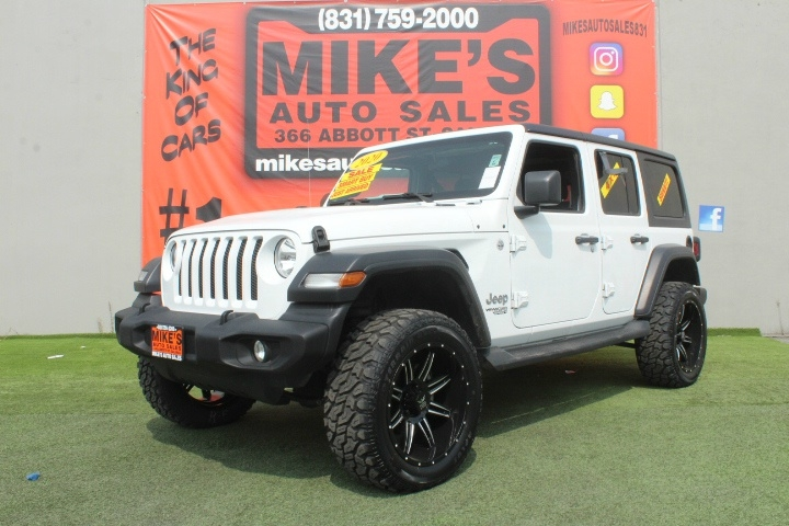 Used 2020 Jeep Wrangler Unlimited Sport S 4x4 in Salinas, CA