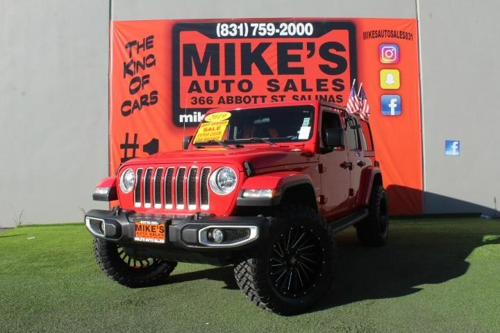 Used 2019 Jeep Wrangler Unlimited Sahara 4x4 in Salinas, CA