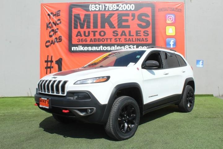 Used 2017 Jeep Cherokee Trailhawk 4x4 *Ltd Avail* in Salinas, CA