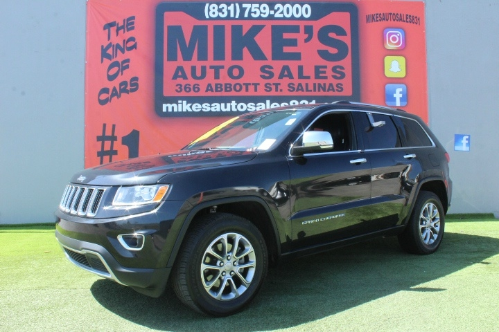Used 2016 Jeep Grand Cherokee RWD 4dr Limited in Salinas, CA