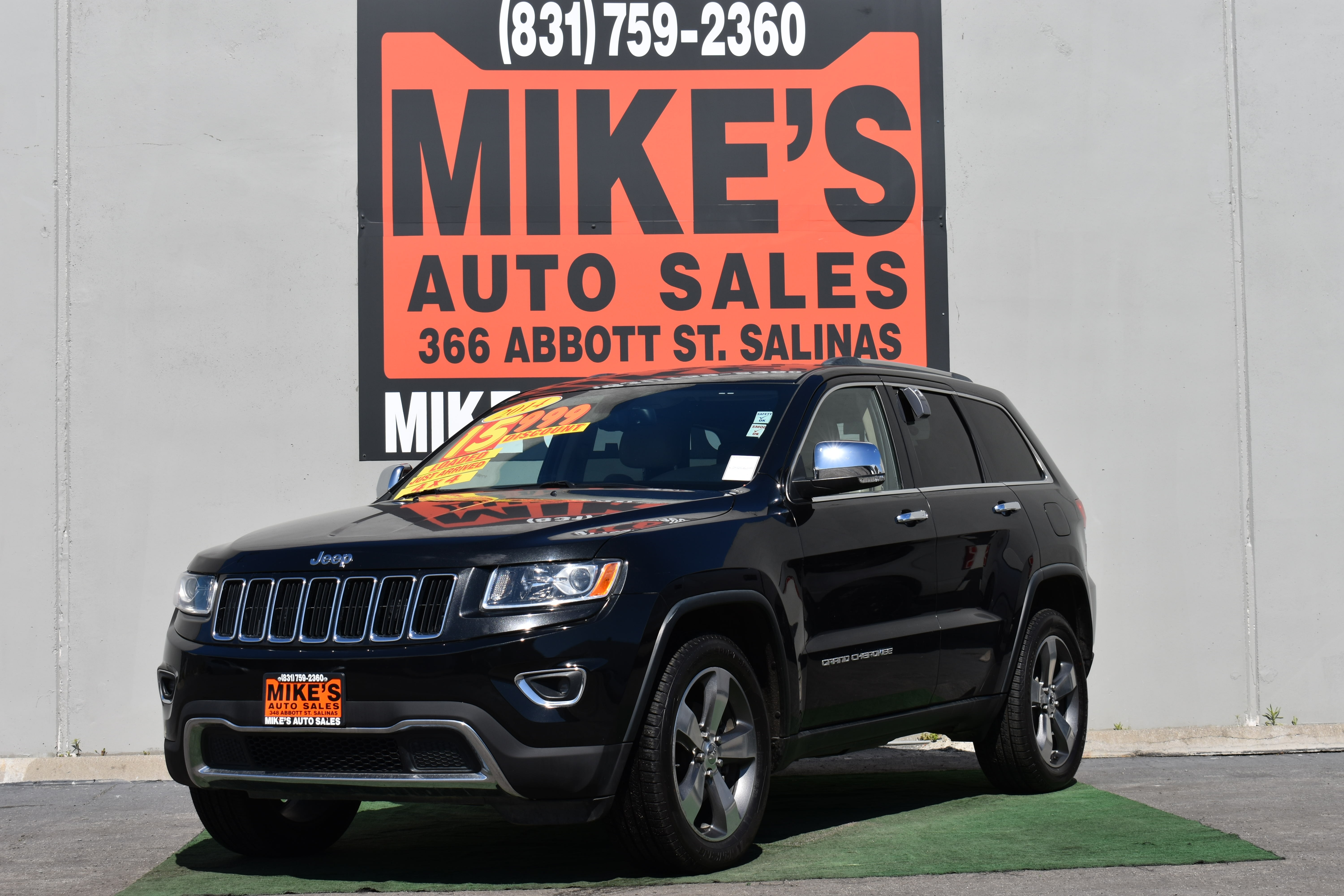 2014 Jeep Grand Cherokee 4WD 4dr Limited in Salinas, CA