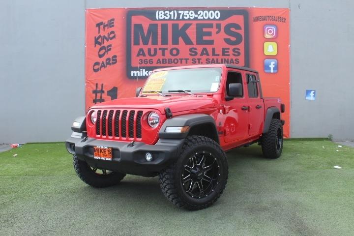 Used 2021 Jeep Gladiator Sport S 4x4 in Salinas, CA