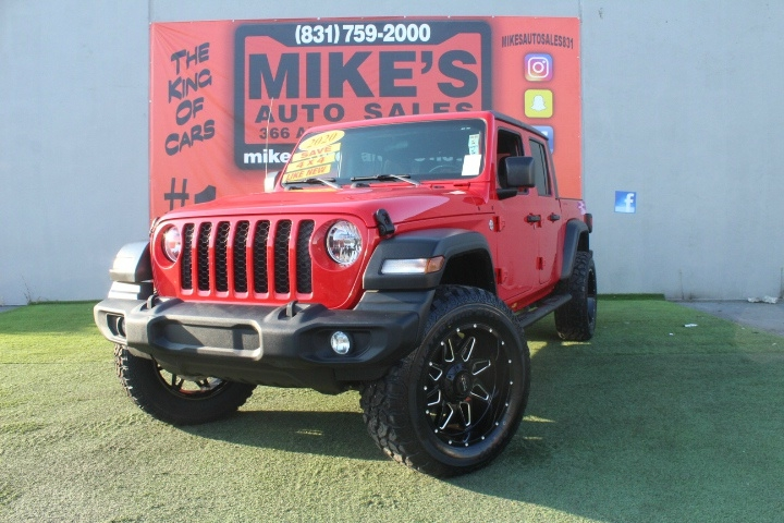Used 2020 Jeep Gladiator Sport S 4x4 in Salinas, CA