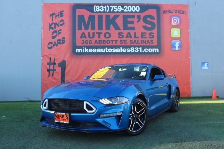 Used 2019 Ford Mustang EcoBoost Fastback in Salinas, CA