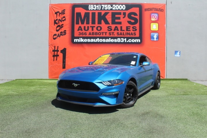 Used 2020 Ford Mustang EcoBoost Fastback in Salinas, CA
