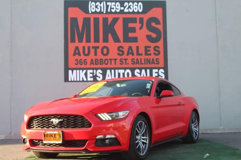 Used 2015 Ford Mustang 2dr Fastback EcoBoost in Salinas, CA