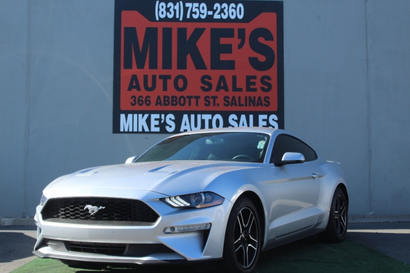 Used 2018 Ford Mustang EcoBoost Fastback in Salinas, CA
