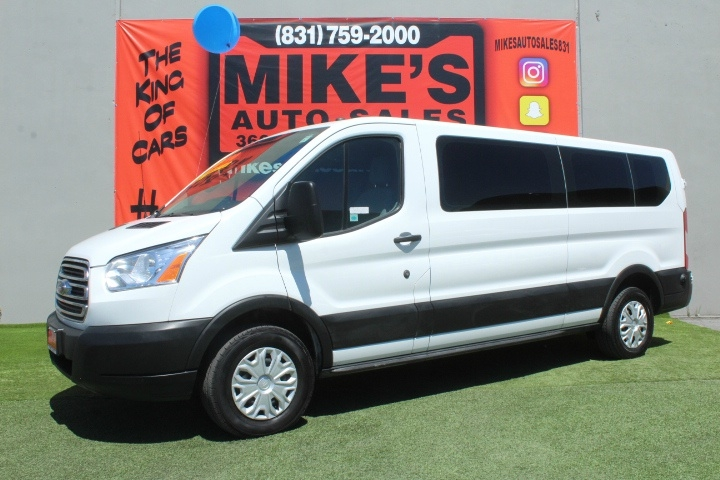 Used 2019 Ford Transit Passenger Wagon T-350 148  Low Roof XL Sliding RH Dr in Salinas, CA