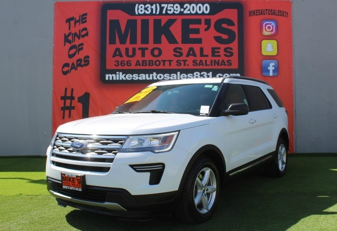 Used 2018 Ford Explorer XLT FWD in Salinas, CA