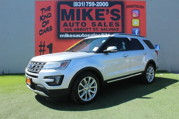 Used 2016 Ford Explorer FWD 4dr Limited in Salinas, CA