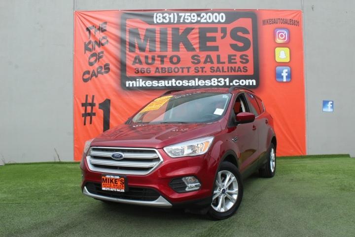 Used 2018 Ford Escape SE FWD in Salinas, CA