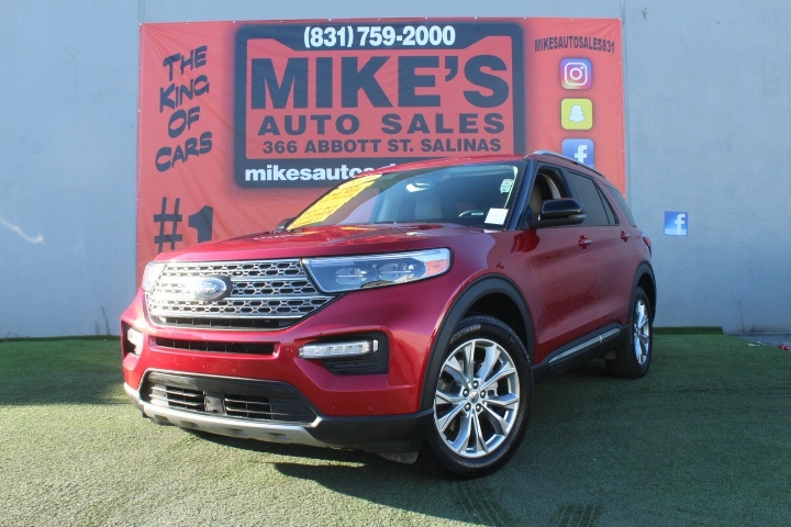 Used 2020 Ford Explorer Limited 4WD in Salinas, CA
