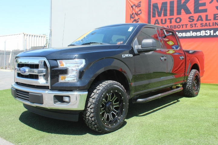 Used 2017 Ford F-150 XL 2WD SuperCrew 5.5 Box in Salinas, CA