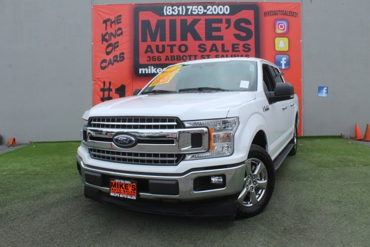 Used 2019 Ford F-150 XL 2WD SuperCrew 5.5 Box in Salinas, CA