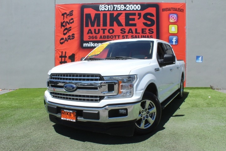Used 2018 Ford F-150 XL 2WD SuperCrew 5.5 Box in Salinas, CA