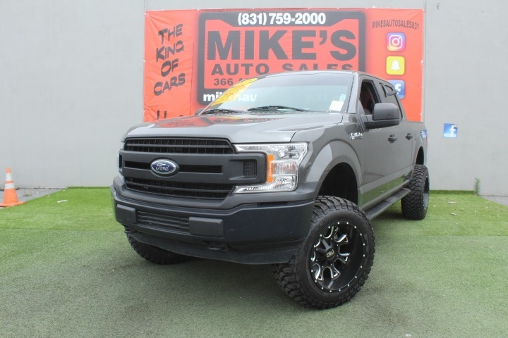 Used 2018 Ford F-150 XL 4WD SuperCrew 5.5 Box in Salinas, CA