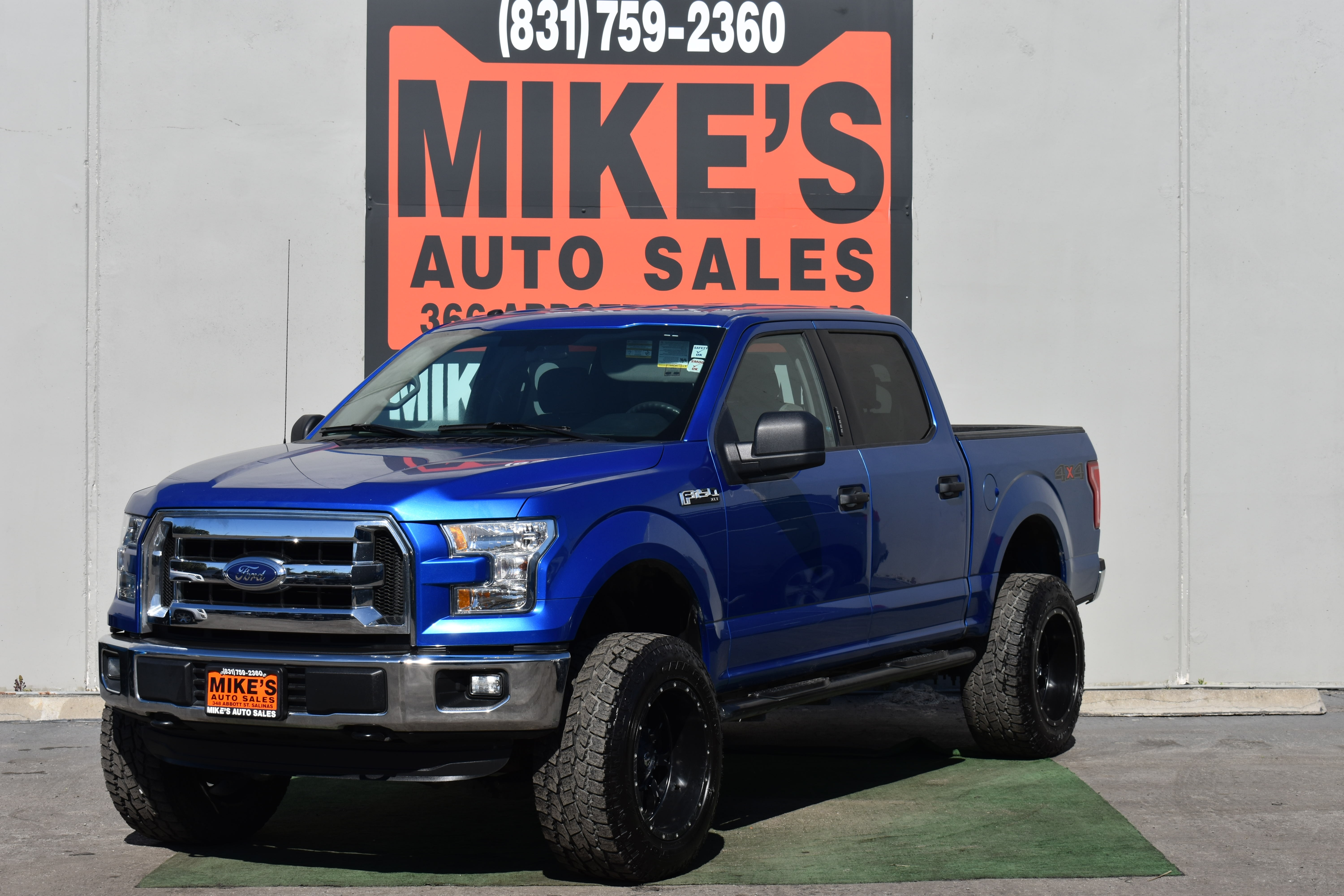 2016 Ford F-150 4WD SuperCrew 145  XLT in Salinas, CA
