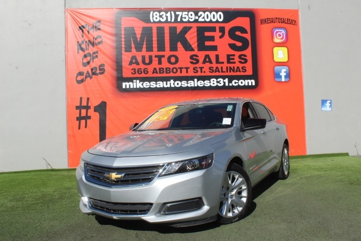 Used 2017 Chevrolet Impala 4dr Sdn LS w/1LS in Salinas, CA