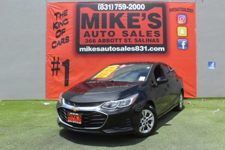 Used 2019 Chevrolet Cruze 4dr Sdn LS in Salinas, CA