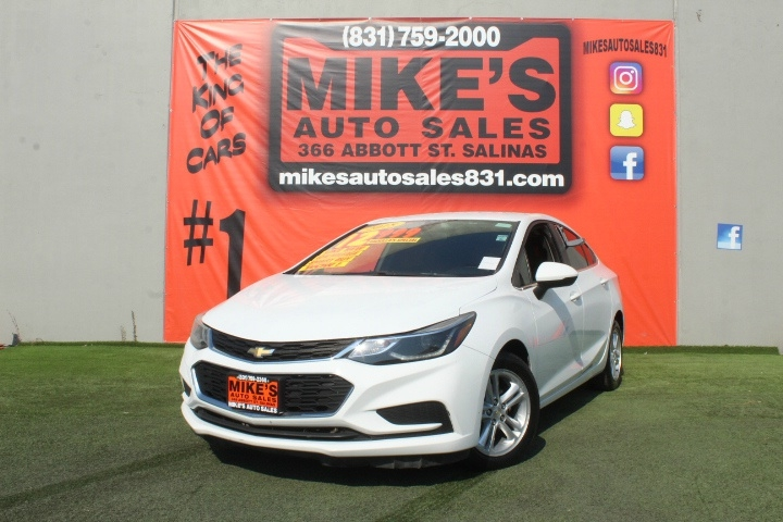 Used 2018 Chevrolet Cruze 4dr Sdn 1.4L LT w/1SD in Salinas, CA