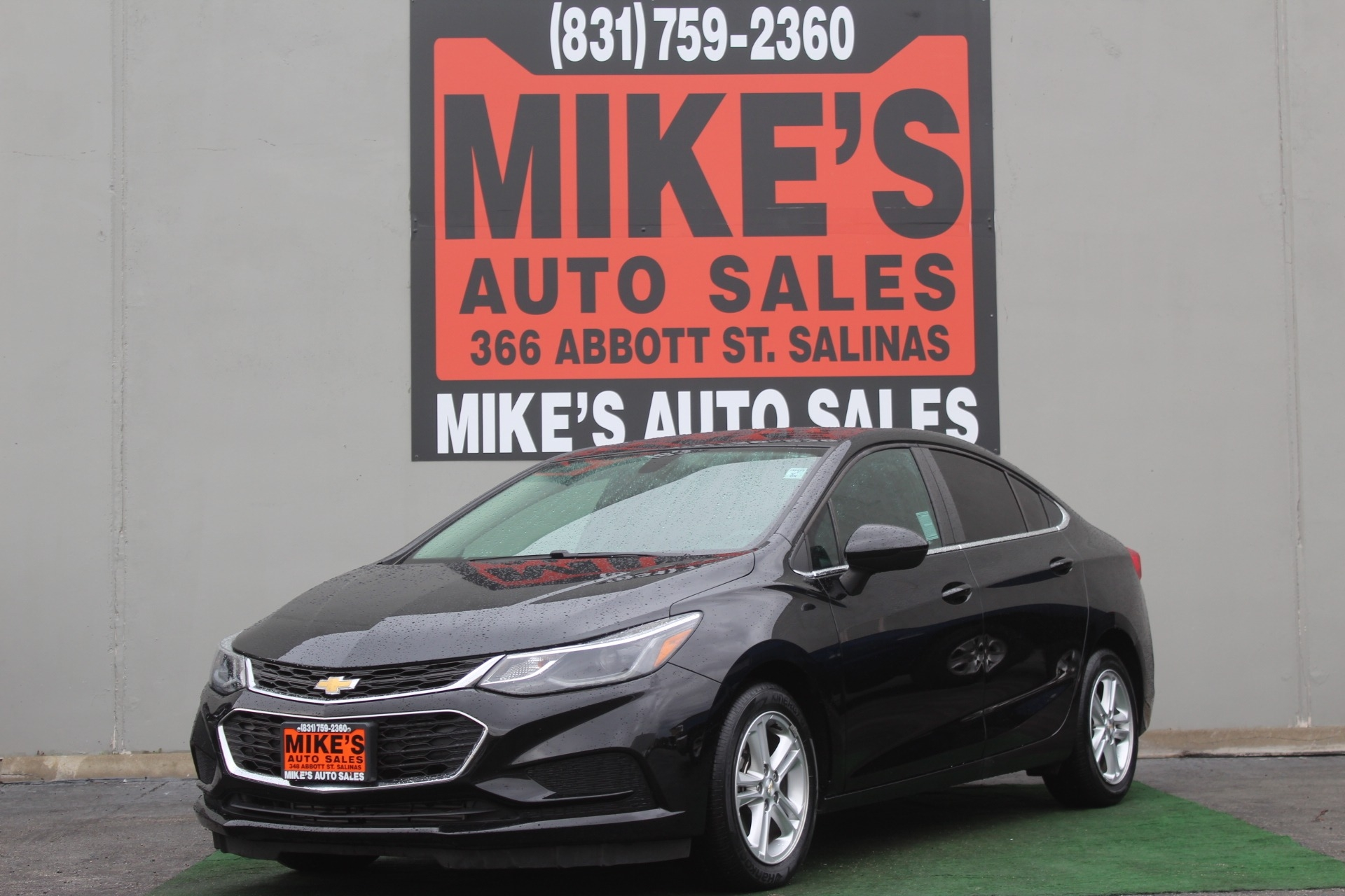 Used 2017 Chevrolet Cruze 4dr Sdn 1.4L LT w/1SD in Salinas, CA