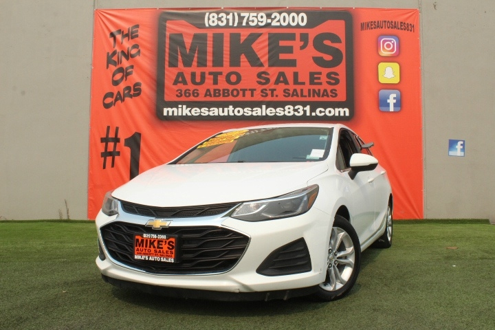 Used 2019 Chevrolet Cruze 4dr Sdn LT in Salinas, CA