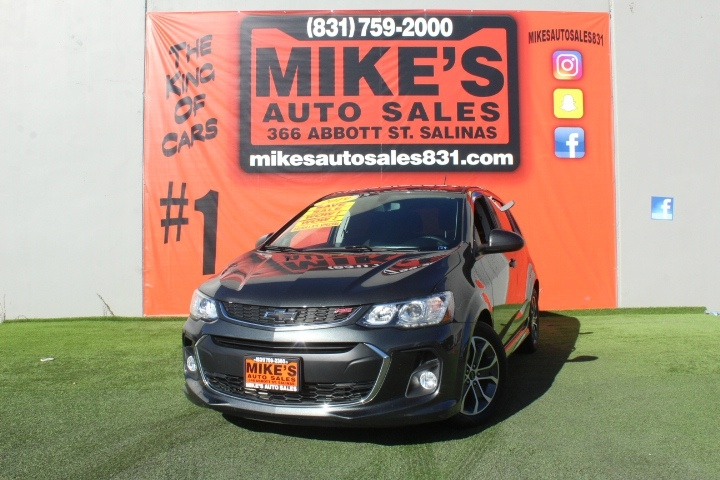 Used 2019 Chevrolet Sonic 5dr HB Auto LT w/1SD in Salinas, CA