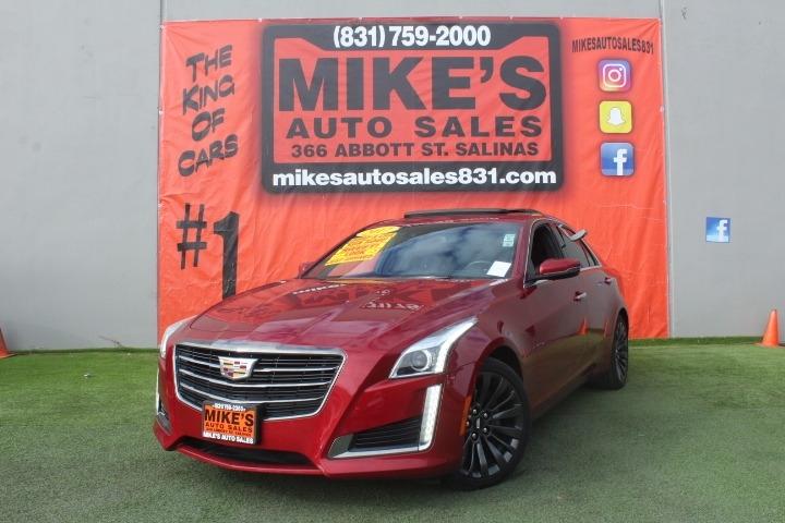Used 2017 Cadillac CTS Sedan 4dr Sdn 2.0L Turbo Luxury RWD in Salinas, CA