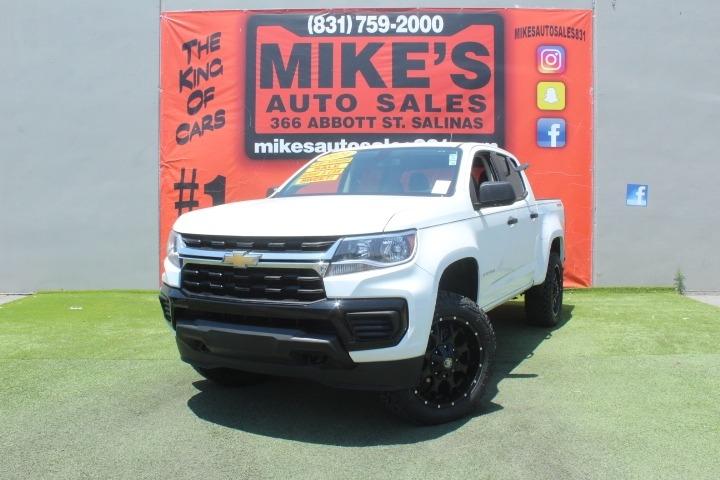 Used 2021 Chevrolet Colorado 4WD Crew Cab 128  Work Truck in Salinas, CA