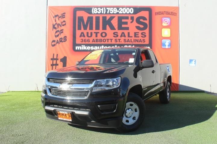 Used 2017 Chevrolet Colorado 2WD Ext Cab 128.3  WT in Salinas, CA