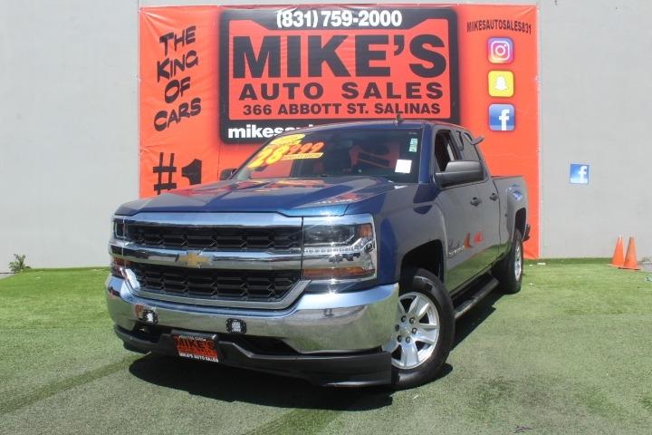 Used 2016 Chevrolet Silverado 1500 2WD Double Cab 143.5  Work Truck in Salinas, CA