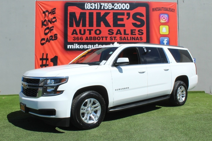 Used 2018 Chevrolet Suburban 4WD 4dr 1500 LT in Salinas, CA