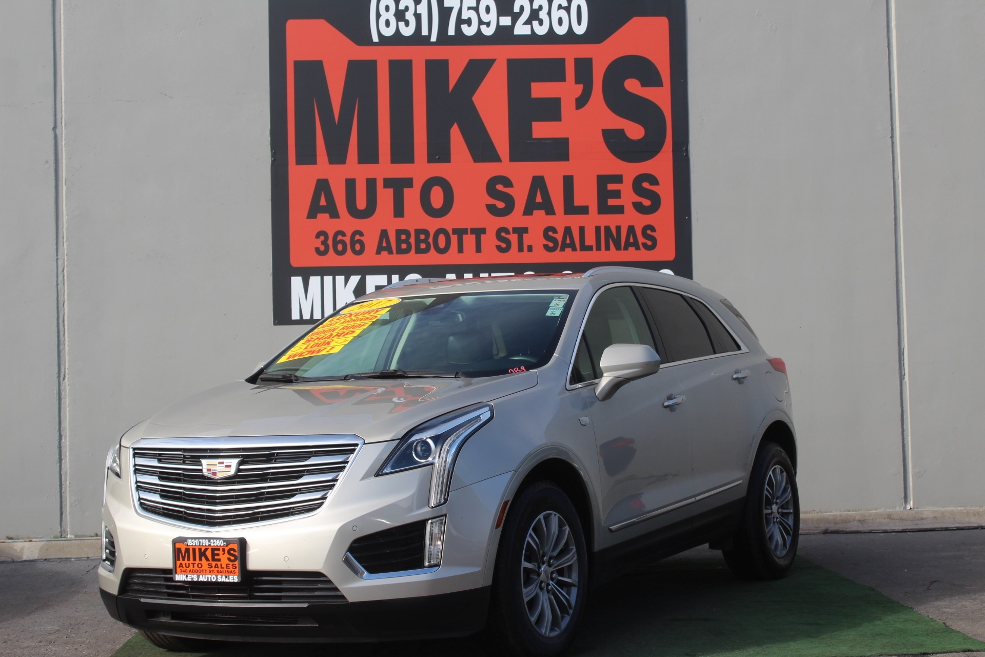 Used 2017 Cadillac XT5 FWD 4dr Luxury in Salinas, CA