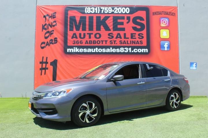 Used 2017 Honda Accord Sedan LX CVT in Salinas, CA