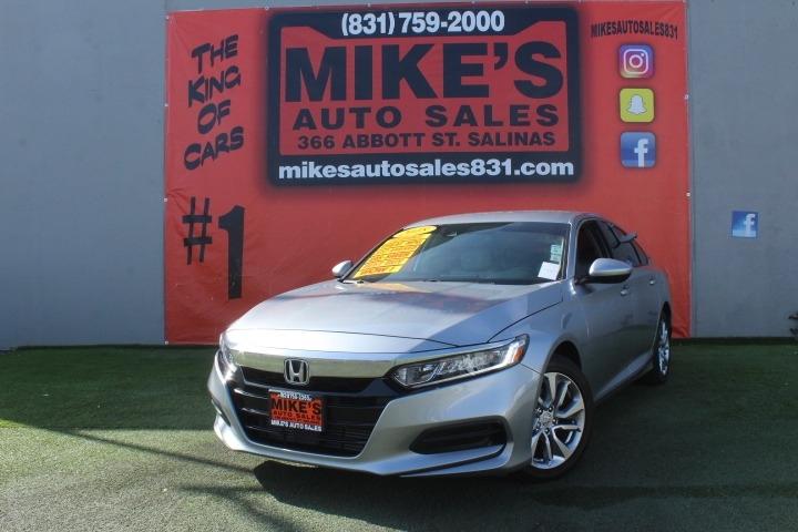 Used 2018 Honda Accord Sedan LX CVT in Salinas, CA